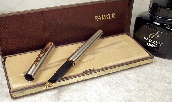 Parker 95 Arrow Nib Section Stainless Steel F New